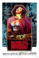 POSTER - BLOOD FROM THE MUMMY'S TOMB