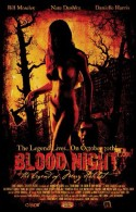 POSTER - BLOOD NIGHT, THE LEGEND OF MARY HATCHET (TEASER)
