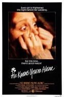 POSTER - HE KNOWS YOU'RE ALONE