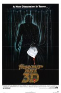 POSTER - FRIDAY THE 13TH PART 3