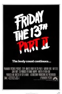 POSTER - FRIDAY THE 13TH PART II