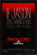 POSTER - FRIDAY THE 13TH PART V- A NEW BEGINNING