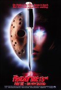 POSTER - FRIDAY THE 13TH PART VII - THE NEW BLOOD