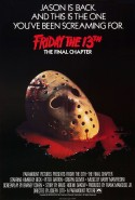 POSTER - FRIDAY THE 13TH- THE FINAL CHAPTER (2)