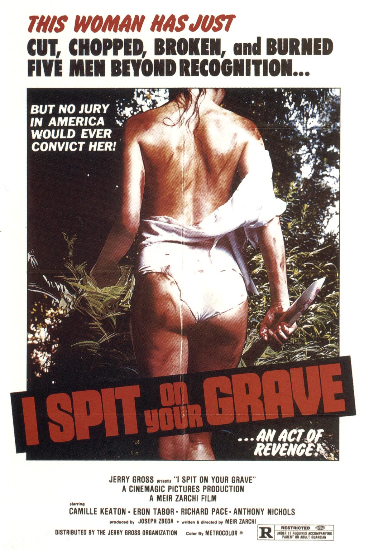 POSTER - I SPIT ON YOUR GRAVE (DAY OF THE WOMAN).JPG