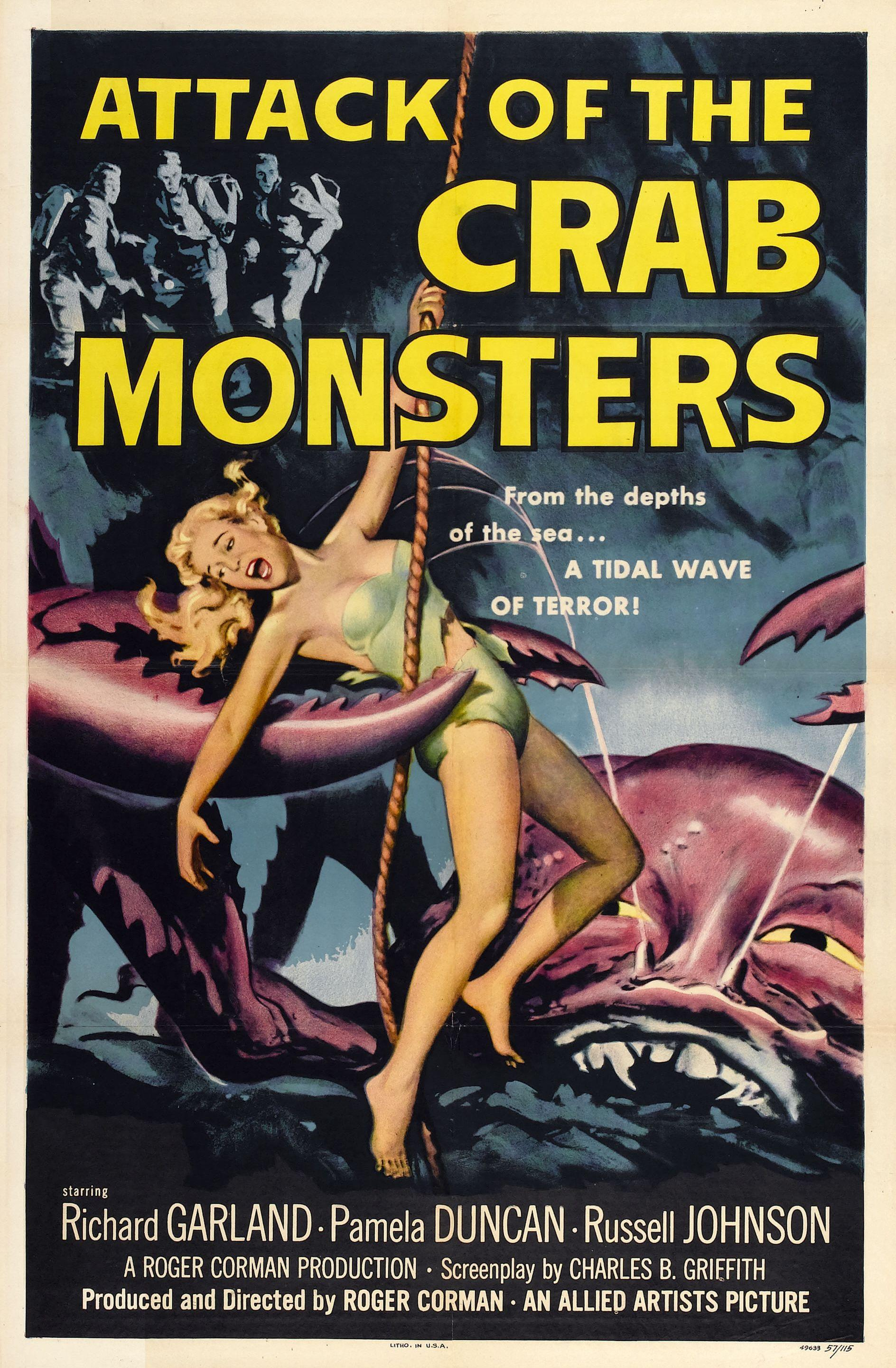 POSTER - ATTACK OF THE CRAB MONSTERS.jpg